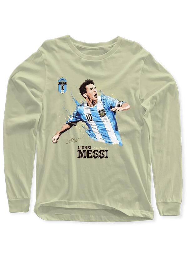 ccfa476c0a6 Messi Full Sleeves T-shirt - SHIRT HUT